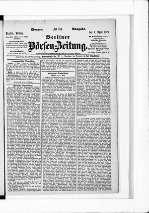 Berliner Börsen-Zeitung vom 06.04.1877