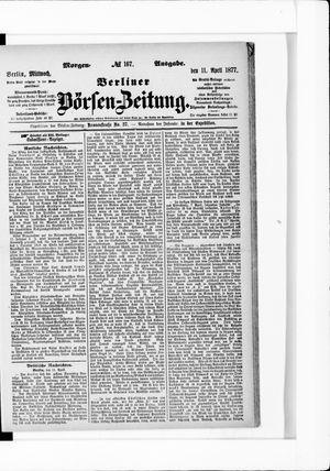 Berliner Börsen-Zeitung vom 11.04.1877