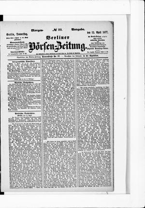 Berliner Börsen-Zeitung vom 12.04.1877