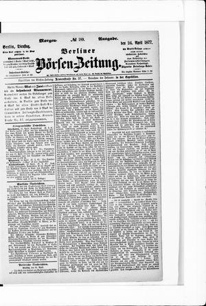 Berliner Börsen-Zeitung vom 24.04.1877