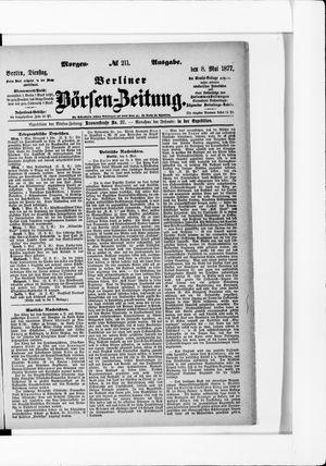 Berliner Börsen-Zeitung vom 08.05.1877