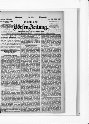 Berliner Börsen-Zeitung vom 16.05.1877