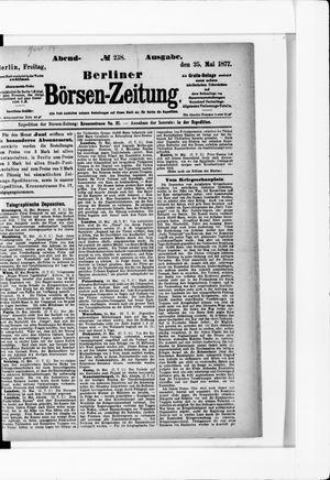 Berliner Börsen-Zeitung vom 25.05.1877