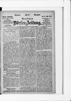 Berliner Börsen-Zeitung vom 31.05.1877