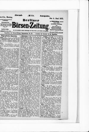 Berliner Börsen-Zeitung vom 04.06.1877