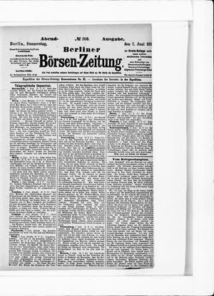 Berliner Börsen-Zeitung vom 07.06.1877