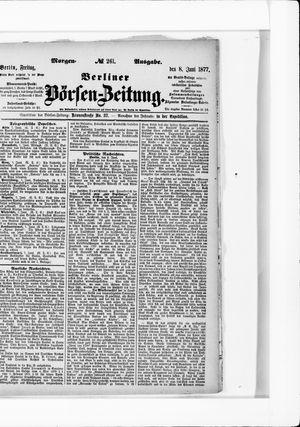 Berliner Börsen-Zeitung vom 08.06.1877