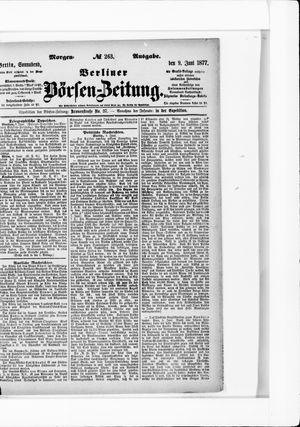Berliner Börsen-Zeitung vom 09.06.1877