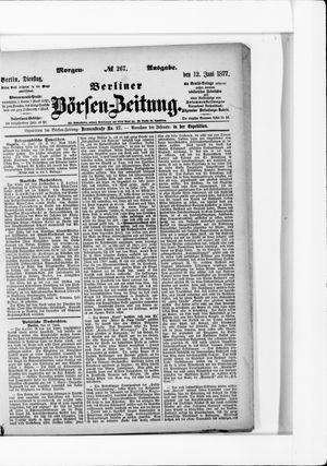 Berliner Börsen-Zeitung vom 12.06.1877
