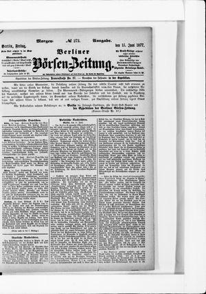 Berliner Börsen-Zeitung on Jun 15, 1877