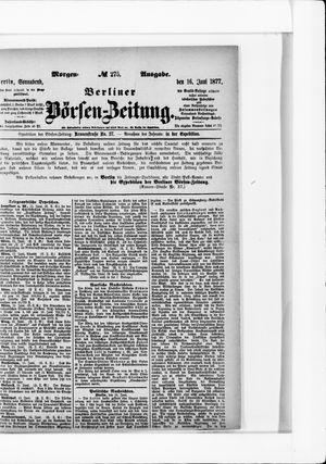 Berliner Börsen-Zeitung vom 16.06.1877