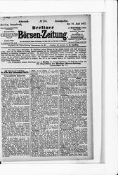 Berliner Börsenzeitung (23.06.1877)