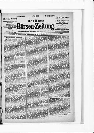 Berliner Börsen-Zeitung vom 02.07.1877