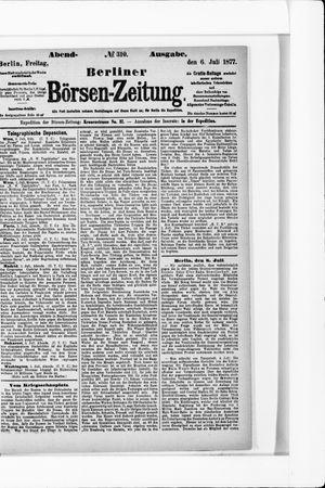 Berliner Börsen-Zeitung vom 06.07.1877
