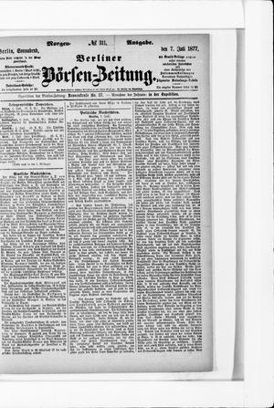 Berliner Börsen-Zeitung vom 07.07.1877