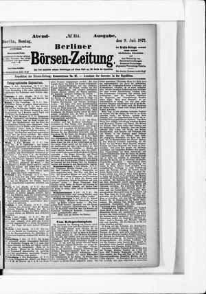 Berliner Börsen-Zeitung vom 09.07.1877