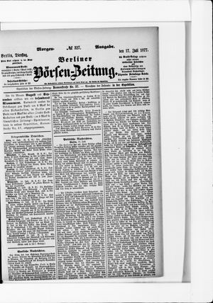 Berliner Börsen-Zeitung vom 17.07.1877