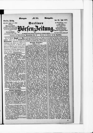 Berliner Börsen-Zeitung vom 20.07.1877