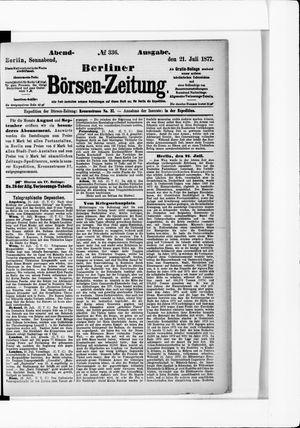 Berliner Börsen-Zeitung vom 21.07.1877