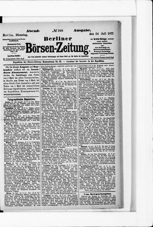 Berliner Börsen-Zeitung vom 24.07.1877