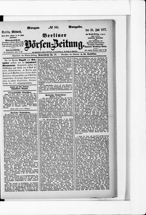 Berliner Börsen-Zeitung vom 25.07.1877