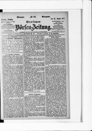 Berliner Börsen-Zeitung vom 28.08.1877