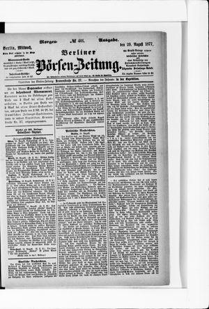 Berliner Börsen-Zeitung vom 29.08.1877
