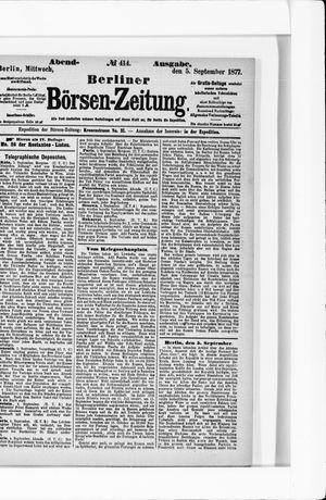 Berliner Börsen-Zeitung vom 05.09.1877