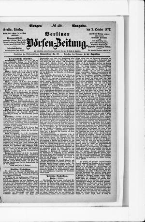 Berliner Börsen-Zeitung vom 02.10.1877