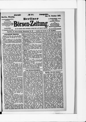 Berliner Börsen-Zeitung vom 16.10.1877