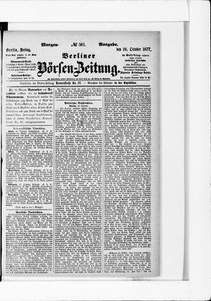 Berliner Börsen-Zeitung vom 26.10.1877