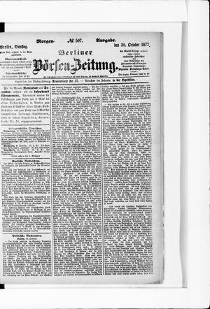 Berliner Börsen-Zeitung vom 30.10.1877