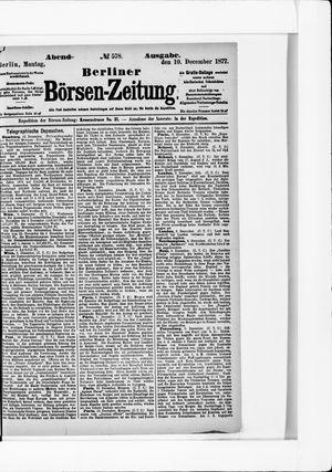 Berliner Börsen-Zeitung vom 10.12.1877