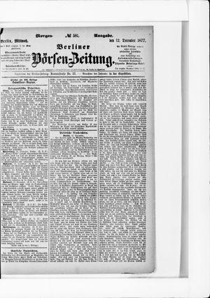 Berliner Börsen-Zeitung vom 12.12.1877
