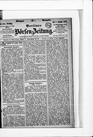 Berliner Börsen-Zeitung vom 01.01.1878