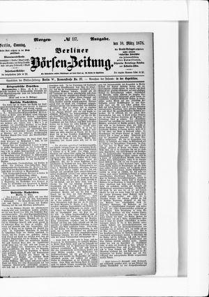 Berliner Börsen-Zeitung vom 10.03.1878