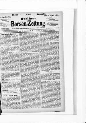 Berliner Börsen-Zeitung vom 12.04.1878