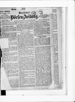 Berliner Börsen-Zeitung on Jun 1, 1878