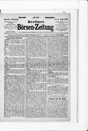 Berliner Börsen-Zeitung vom 04.06.1878