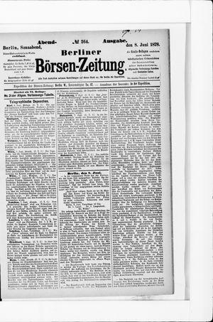 Berliner Börsen-Zeitung vom 08.06.1878