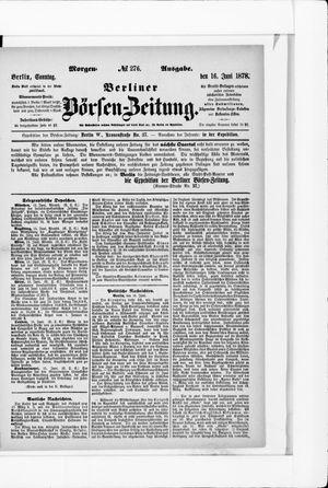 Berliner Börsen-Zeitung vom 16.06.1878