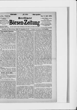 Berliner Börsen-Zeitung vom 02.07.1878
