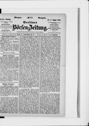 Berliner Börsen-Zeitung vom 11.08.1878