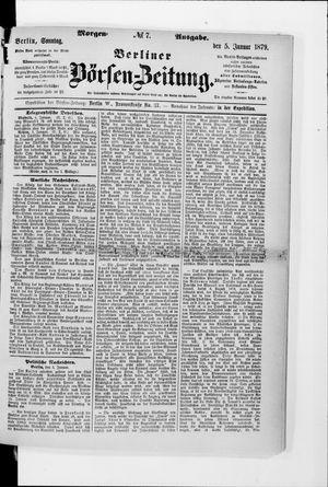 Berliner Börsen-Zeitung on Jan 5, 1879