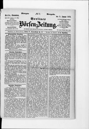 Berliner Börsen-Zeitung on Jan 11, 1879