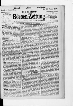 Berliner Börsen-Zeitung vom 30.01.1879
