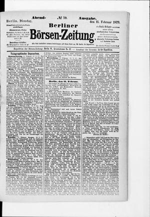 Berliner Börsen-Zeitung vom 11.02.1879