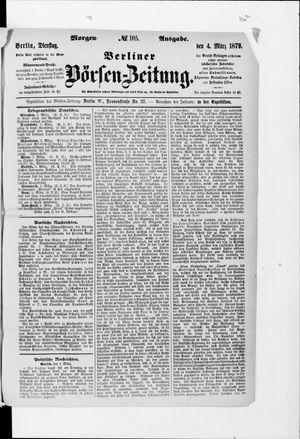 Berliner Börsen-Zeitung on Mar 4, 1879