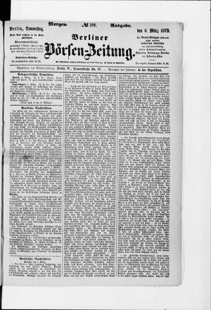 Berliner Börsen-Zeitung vom 06.03.1879