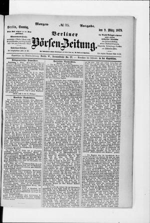 Berliner Börsen-Zeitung vom 09.03.1879